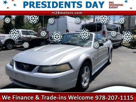 2004 Ford Mustang for sale at RT28 Motors in North Reading MA