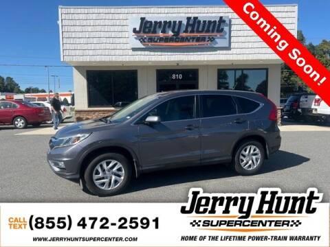 2016 Honda CR-V for sale at Jerry Hunt Supercenter in Lexington NC