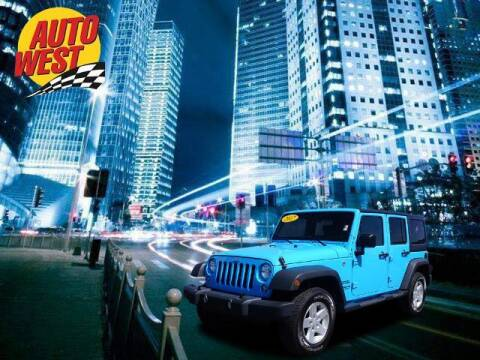 2017 Jeep Wrangler Unlimited for sale at Autowest of Plainwell in Plainwell MI