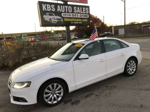 2010 Audi A4 for sale at KBS Auto Sales in Cincinnati OH