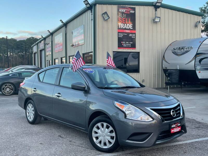 2019 Nissan Versa for sale at Premium Auto Group in Humble TX