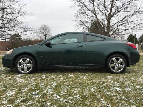 2007 Pontiac G6 for sale at Motors Inc in Mason MI