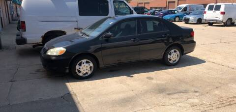 2005 Toyota Corolla for sale at Cargo Vans of Chicago LLC in Mokena IL