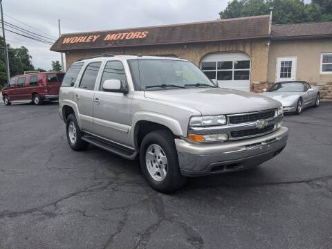 2005 Chevrolet Tahoe for sale at Worley Motors in Enola PA