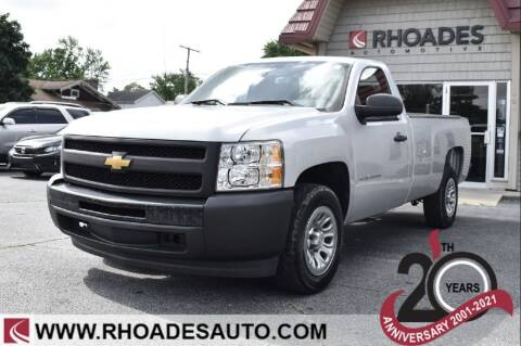 2012 Chevrolet Silverado 1500 for sale at Rhoades Automotive in Columbia City IN