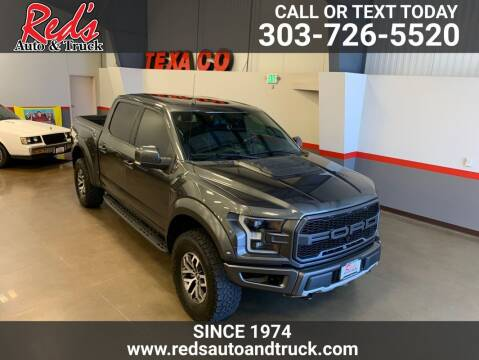 2017 Ford F-150 for sale at Red's Auto and Truck in Longmont CO