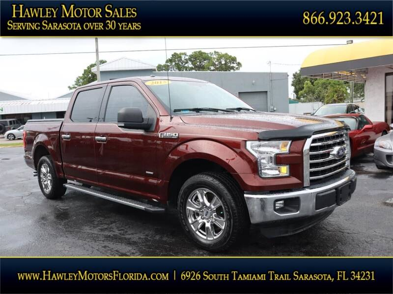 2015 Ford F-150 for sale at Hawley Motor Sales in Sarasota FL