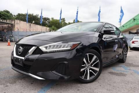 2019 Nissan Maxima for sale at OCEAN AUTO SALES in Miami FL