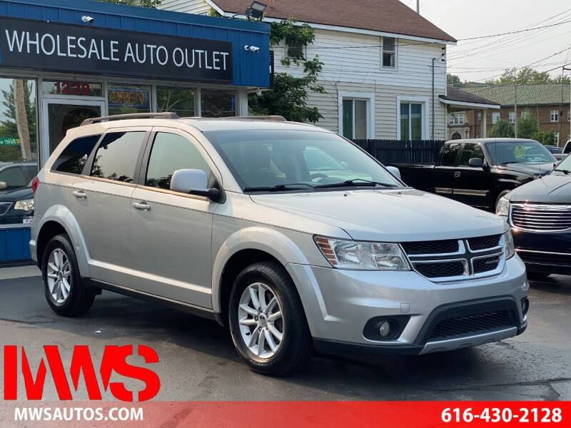2013 Dodge Journey for sale at MWS Wholesale  Auto Outlet in Grand Rapids MI