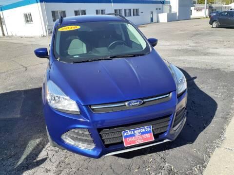 2016 Ford Escape for sale at Albia Motor Co in Albia IA