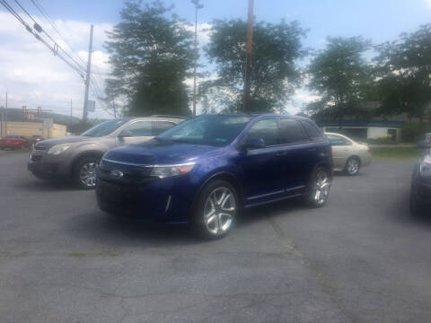2013 Ford Edge for sale at K B Motors in Clearfield PA