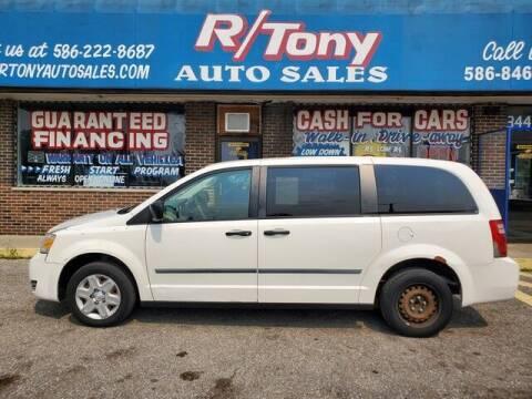 2008 Dodge Grand Caravan for sale at R Tony Auto Sales in Clinton Township MI