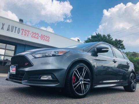 2015 Ford Focus for sale at Trimax Auto Group in Norfolk VA
