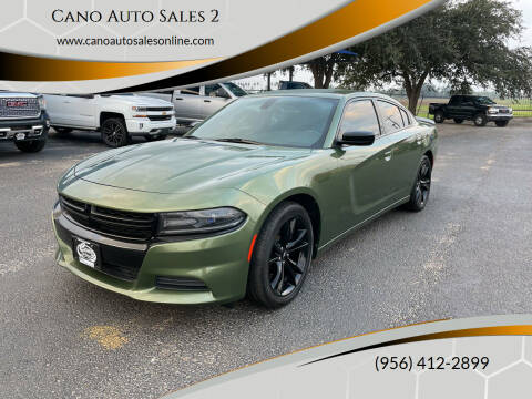 2018 Dodge Charger for sale at Cano Auto Sales 2 in Harlingen TX