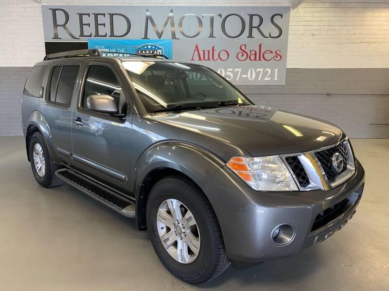 2009 Nissan Pathfinder for sale at REED MOTORS LLC in Phoenix AZ