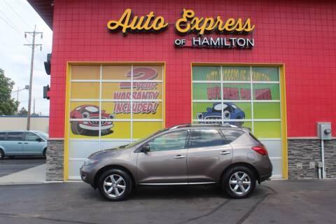 2010 Nissan Murano for sale at AUTO EXPRESS OF HAMILTON LLC in Hamilton OH