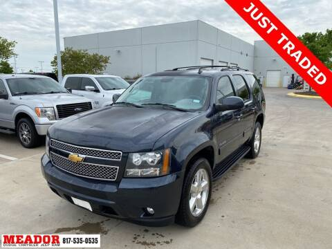 2013 Chevrolet Tahoe for sale at Meador Dodge Chrysler Jeep RAM in Fort Worth TX