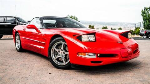 2002 Chevrolet Corvette for sale at MUSCLE MOTORS AUTO SALES INC in Reno NV
