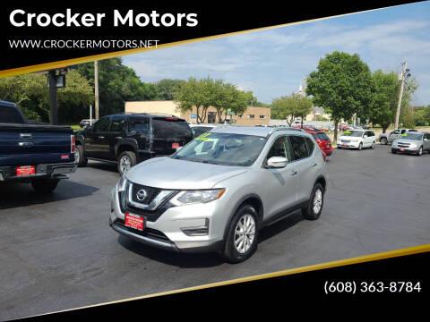 2017 Nissan Rogue for sale at Crocker Motors in Beloit WI