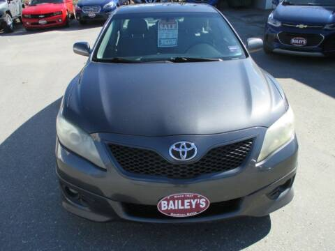 2011 Toyota Camry for sale at Percy Bailey Auto Sales Inc in Gardiner ME