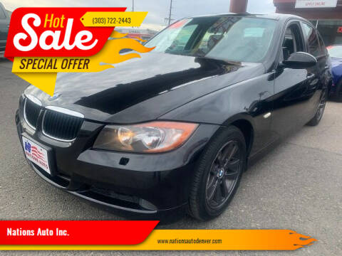 2006 BMW 3 Series for sale at Nations Auto Inc. in Denver CO