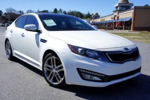 2013 Kia Optima for sale at CU Carfinders in Norcross GA