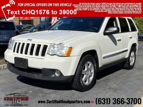 2010 Jeep Grand Cherokee for sale at CERTIFIED HEADQUARTERS in Saint James NY