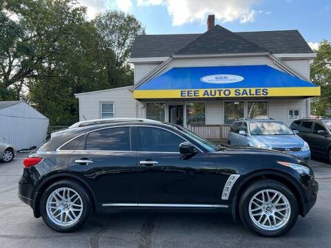 2009 Infiniti FX35 for sale at EEE AUTO SERVICES AND SALES LLC in Cincinnati OH