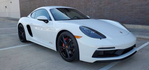 2019 Porsche 718 Cayman for sale at AFFORDABLE AUTO BROKERS in Keller TX
