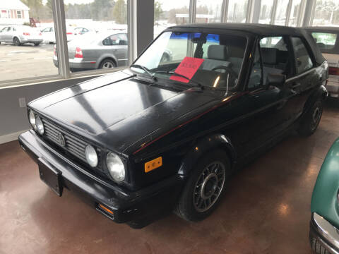 1989 Volkswagen Cabriolet for sale at eurO-K in Benton ME