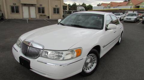 1998 Lincoln Town Car for sale at Best Auto Buy in Las Vegas NV