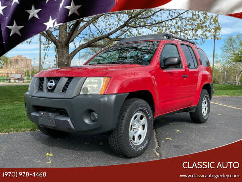 2008 Nissan Xterra for sale at Classic Auto in Greeley CO