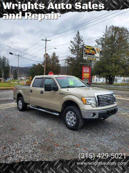 2010 Ford F-150 for sale at Wrights Auto Sales and Repair in Dolgeville NY