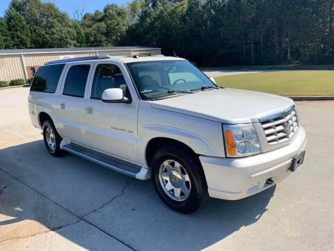 2005 Cadillac Escalade ESV for sale at Two Brothers Auto Sales in Loganville GA