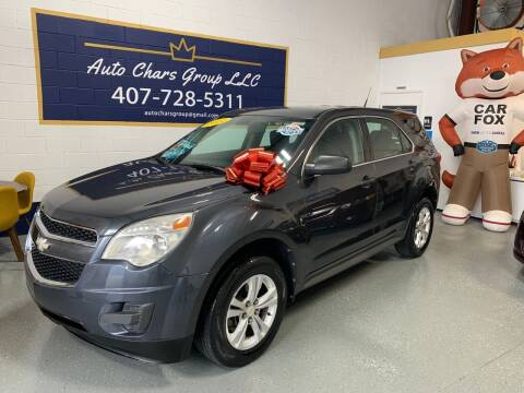 2011 Chevrolet Equinox for sale at Auto Chars Group LLC in Orlando FL