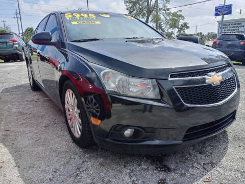2012 Chevrolet Cruze for sale at AFFORDABLE AUTO SALES OF STUART in Stuart FL
