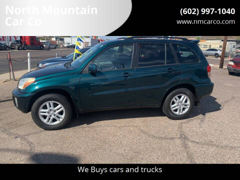 2002 Toyota RAV4 for sale at North Mountain Car Co in Phoenix AZ