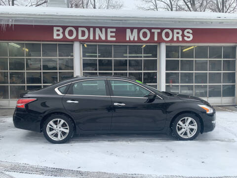 2014 Nissan Altima for sale at BODINE MOTORS in Waverly NY