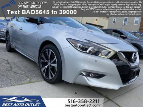 2017 Nissan Maxima for sale at Best Auto Outlet in Floral Park NY