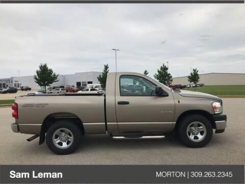 2008 Dodge Ram Pickup 1500 for sale at Sam Leman CDJRF Morton in Morton IL