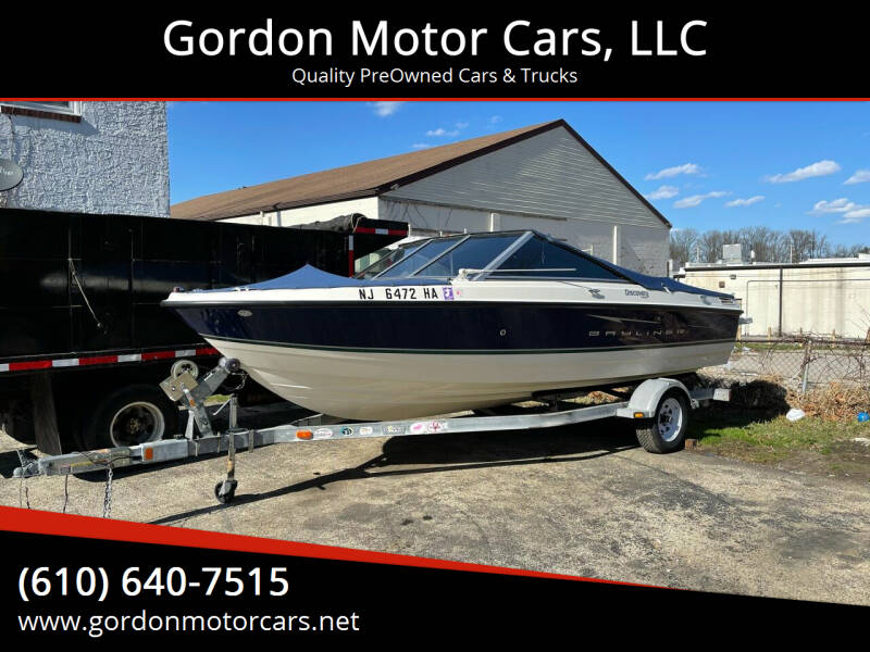 2008 Bayliner Discovery 195 for sale at Gordon Motor Cars, LLC in Frazer PA