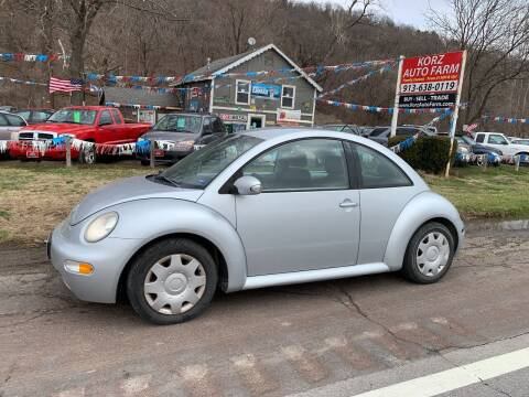 2005 Volkswagen New Beetle for sale at Korz Auto Farm in Kansas City KS