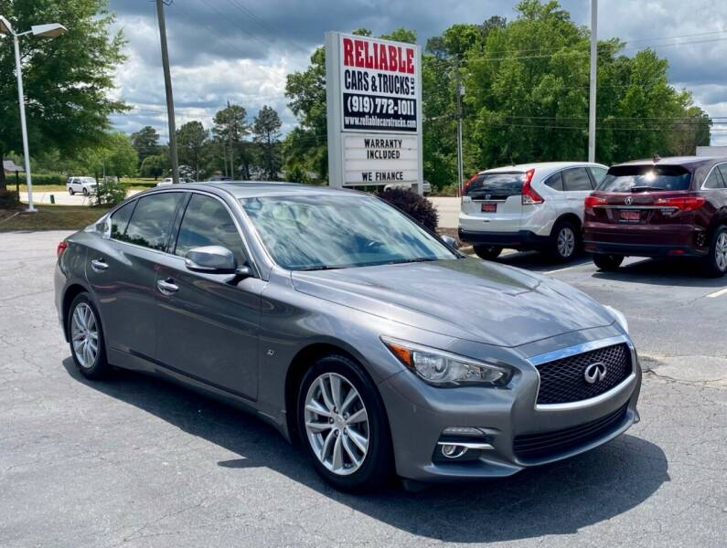 2015 Infiniti Q50 for sale at Reliable Cars & Trucks LLC in Raleigh NC