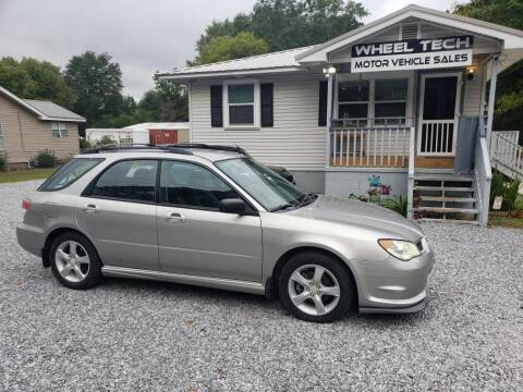 2007 Subaru Impreza for sale at Wheel Tech Motor Vehicle Sales in Maylene AL
