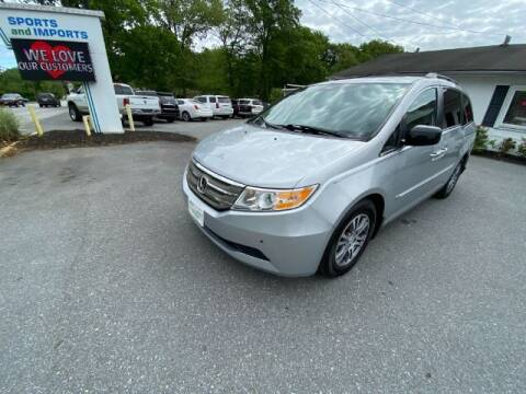 2012 Honda Odyssey for sale at Sports & Imports in Pasadena MD