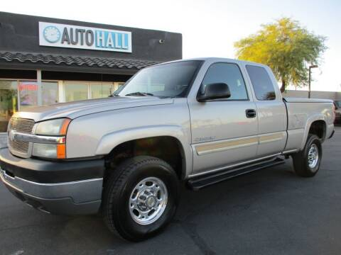 2004 Chevrolet Silverado 2500HD for sale at Auto Hall in Chandler AZ