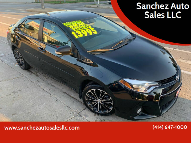 2016 Toyota Corolla for sale at Sanchez Auto Sales LLC in Milwaukee WI