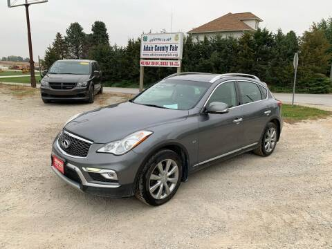 2016 Infiniti QX50 for sale at GREENFIELD AUTO SALES in Greenfield IA