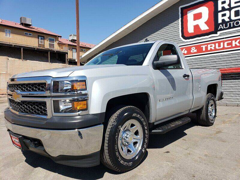 2014 Chevrolet Silverado 1500 for sale at Red Rock Auto Sales in Saint George UT