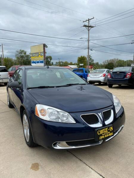 2009 Pontiac G6 for sale at Cruze-In Auto Sales in East Peoria IL